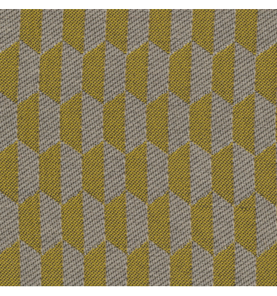 RC24-12 Eco jacquard stof Otto grafisch geel